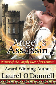 Medieval romance novels on sale - Angel's Assassin by Laurel O'Donnell