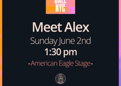 Alex at Gov Ball NYC 2019