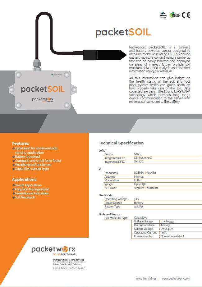 packetSOIL
