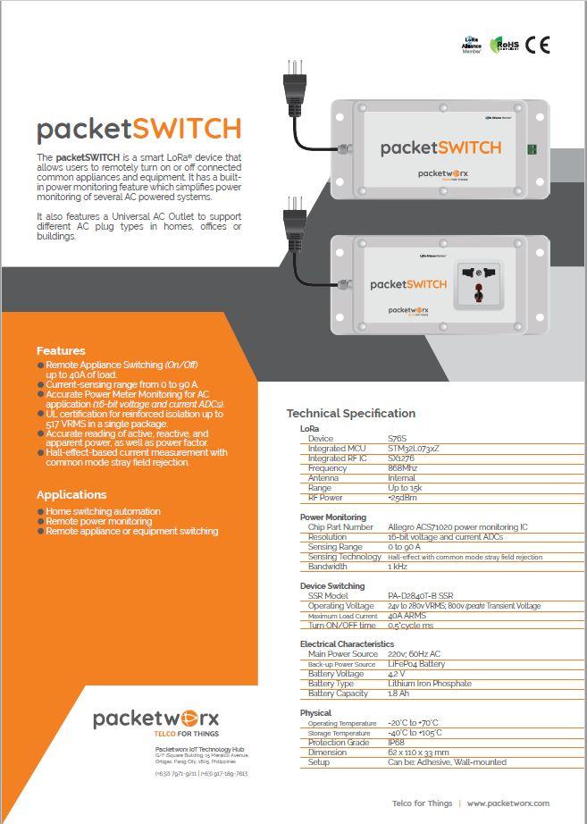 packetSWITCH