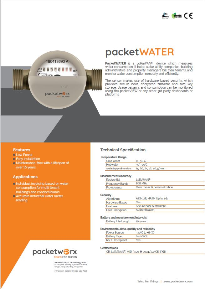 packetWATER