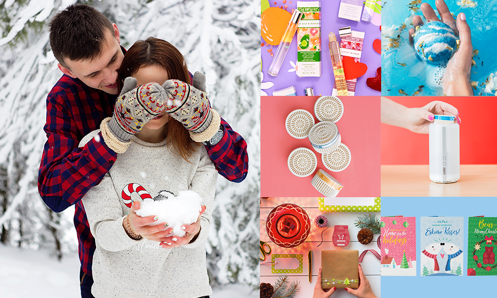 montage of possible scentsy gifts for her