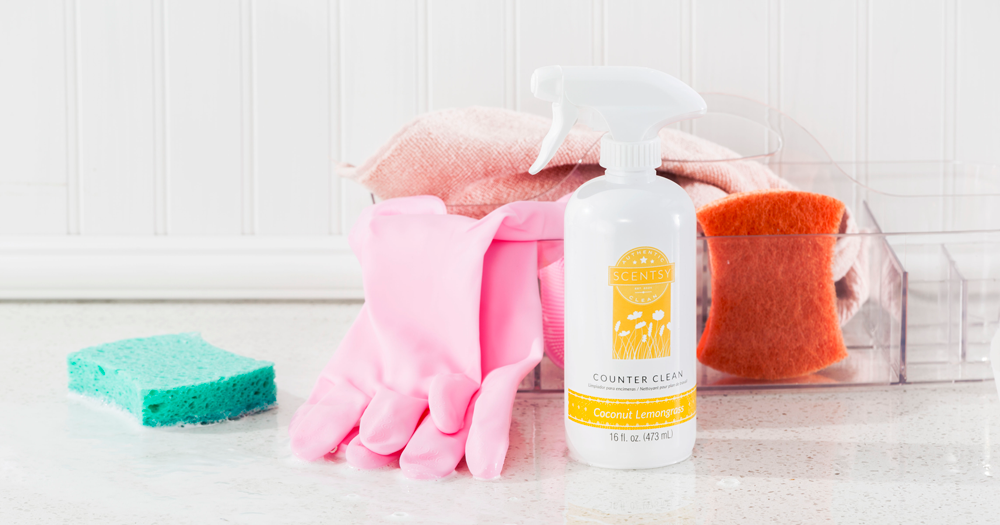 Photo of Scentsy Counter Clean