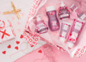 photo of Scentsy Body Products in valentine's wrapping