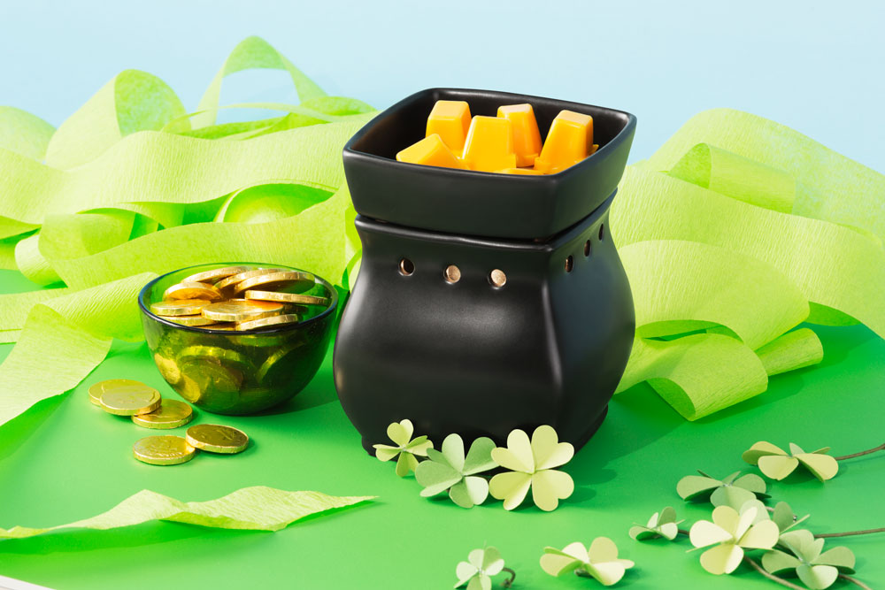 Photo of Scenty Warmer in St. Patricks Day clovers