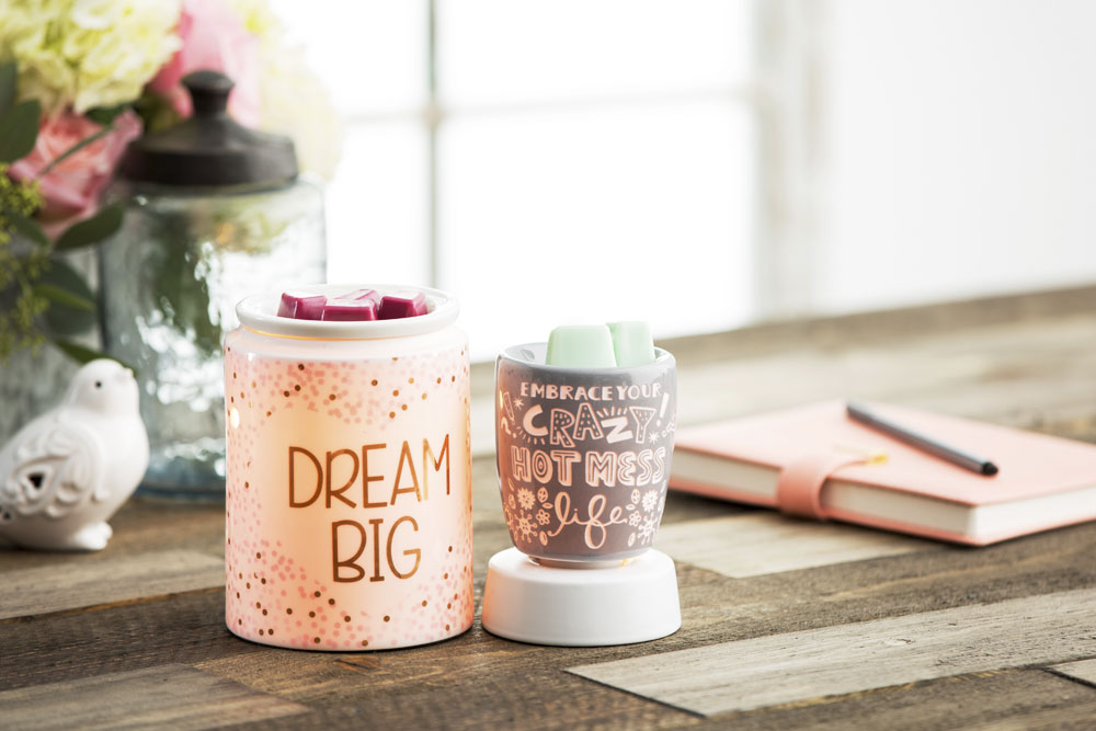 Photo of the dream big warmer and embrace your crazy hot mess life warmer