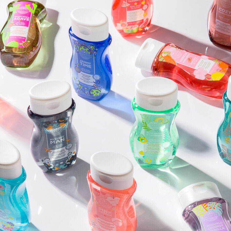 Scentsy Body Wash products