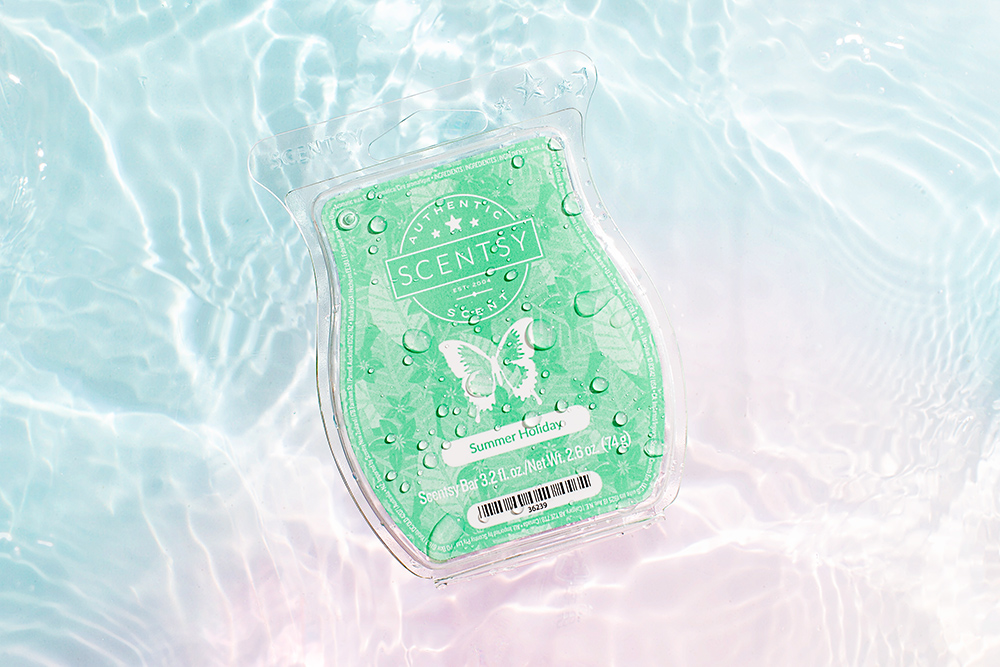 Image of scentsy summer holiday wax bar