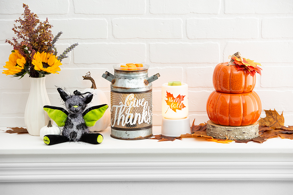 Photo of Scentsy Harvest Collection products