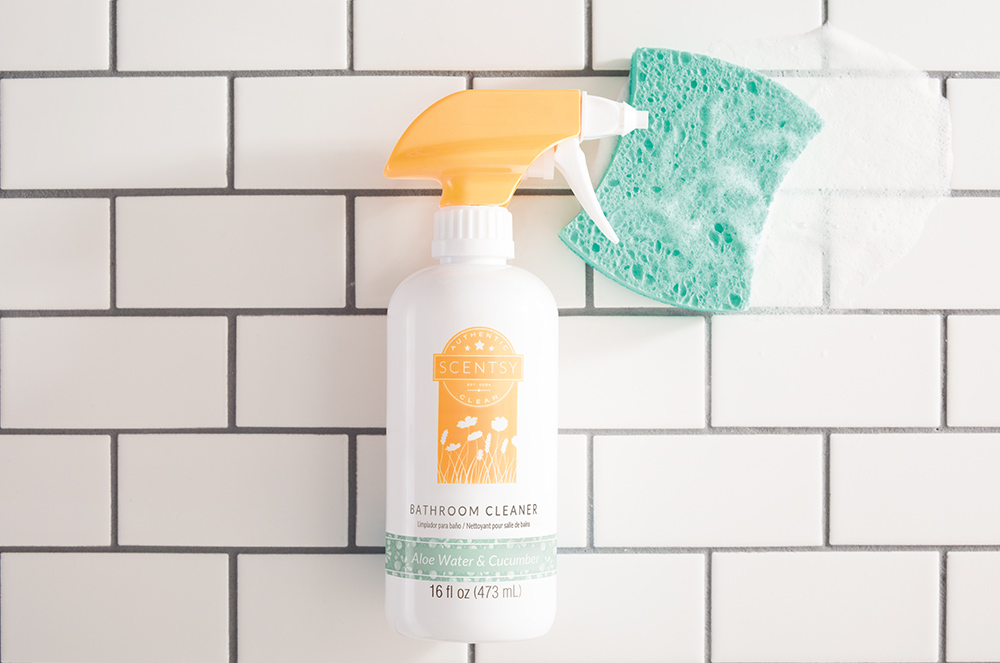 Photo of Scentsy Bathroom Clean in aloe water and cucumber