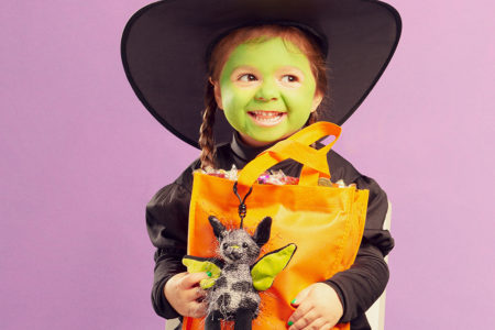 Photo of trick-or-treater