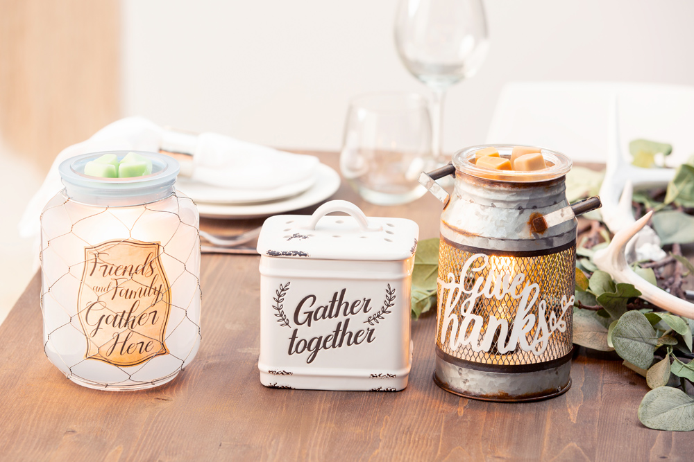 Photo of thanksgiving themed warmers