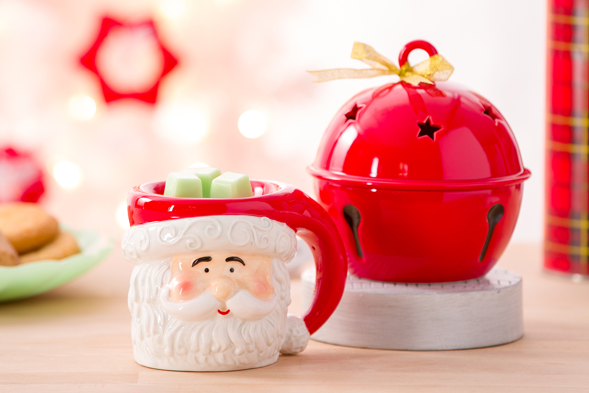 Photo of Merry Mug and Sleigh Bell Warmer