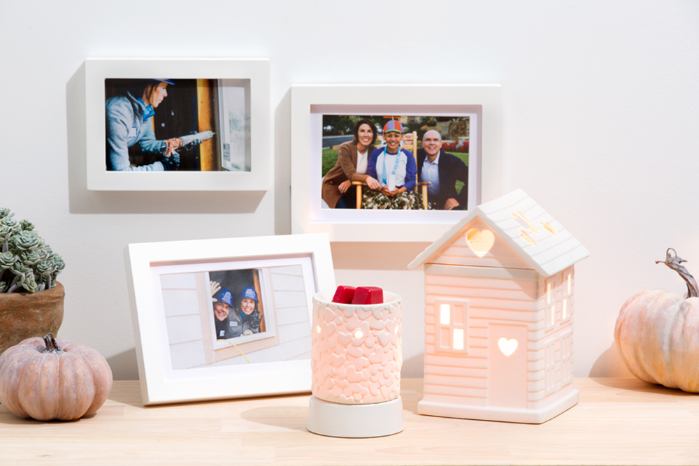 photo of Warm the Heart and Built with Love Scentsy Warmers