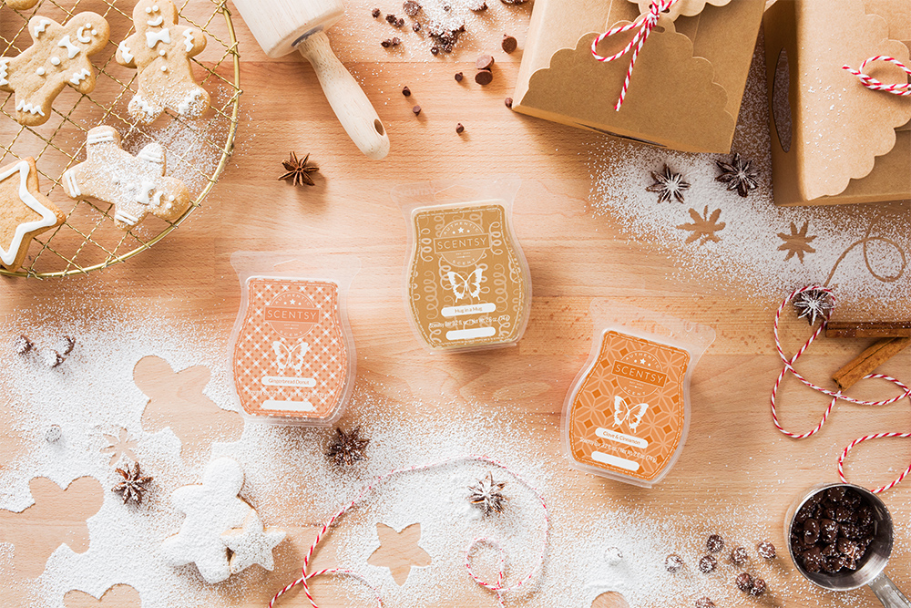 Photo of Scentsy holiday gourmand scents