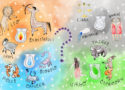 Astrology Sign Illustration and Scentsy Bars
