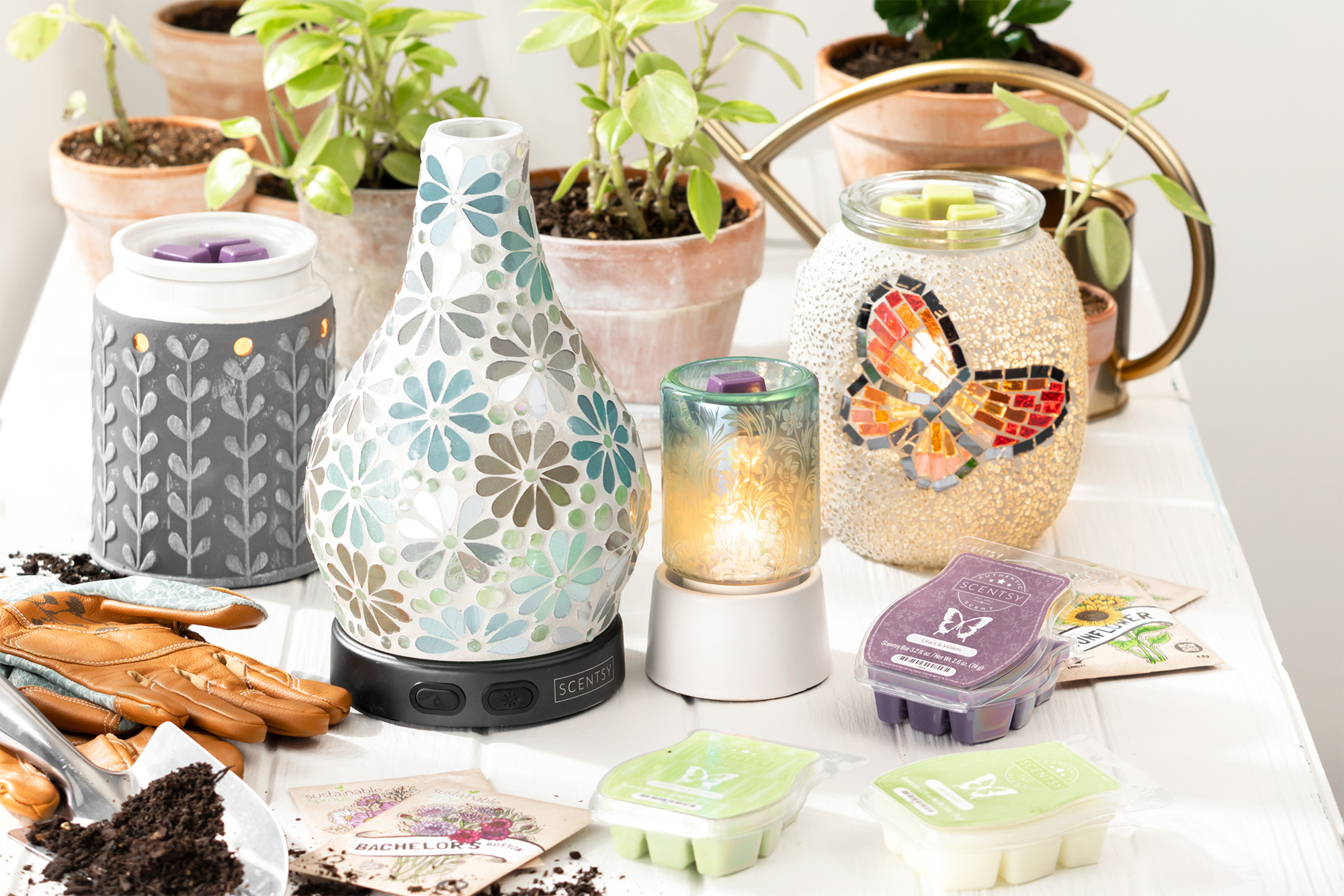 Spring inspired Scentsy products