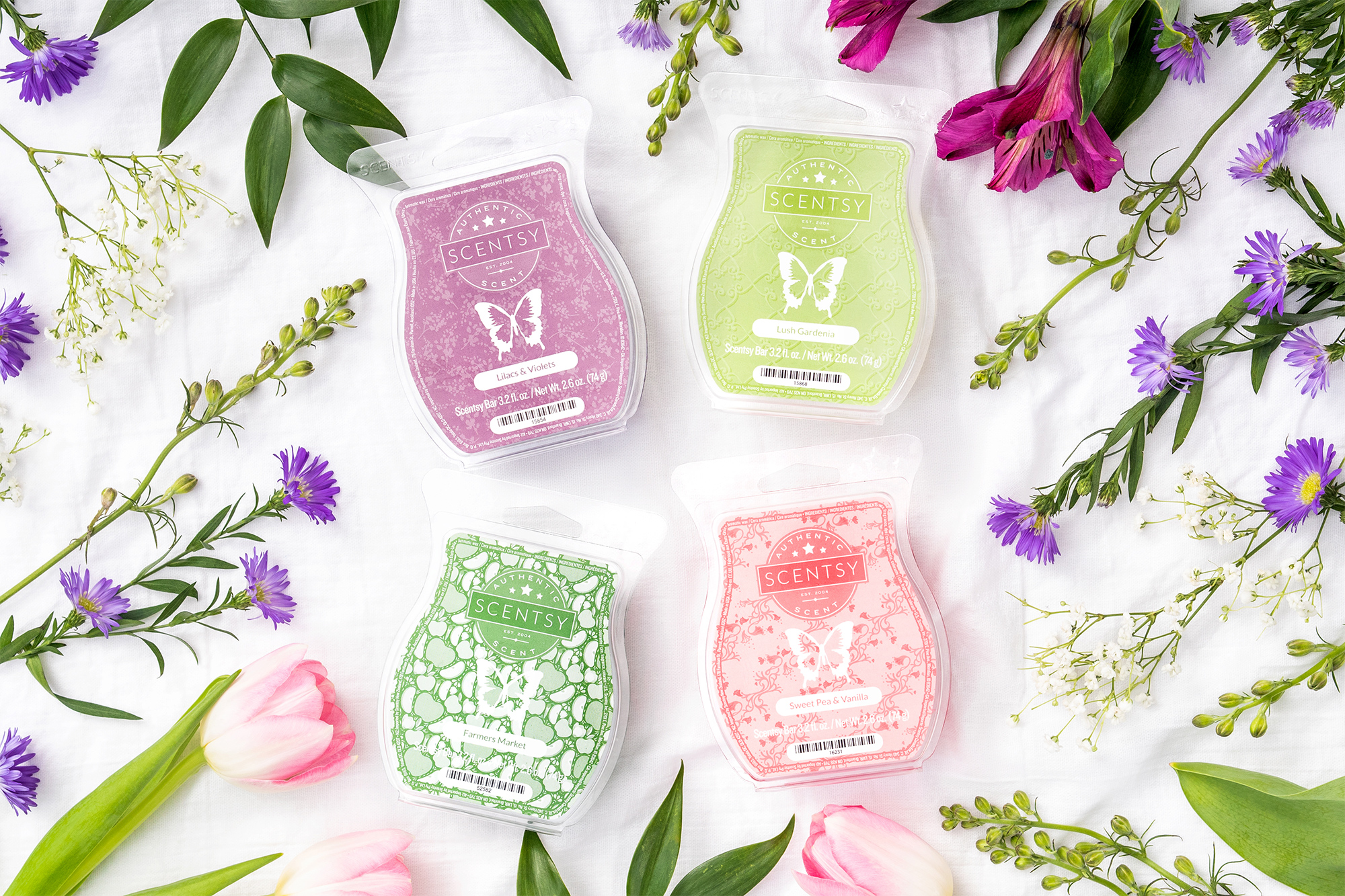 Scentsy May Floral Fragrances