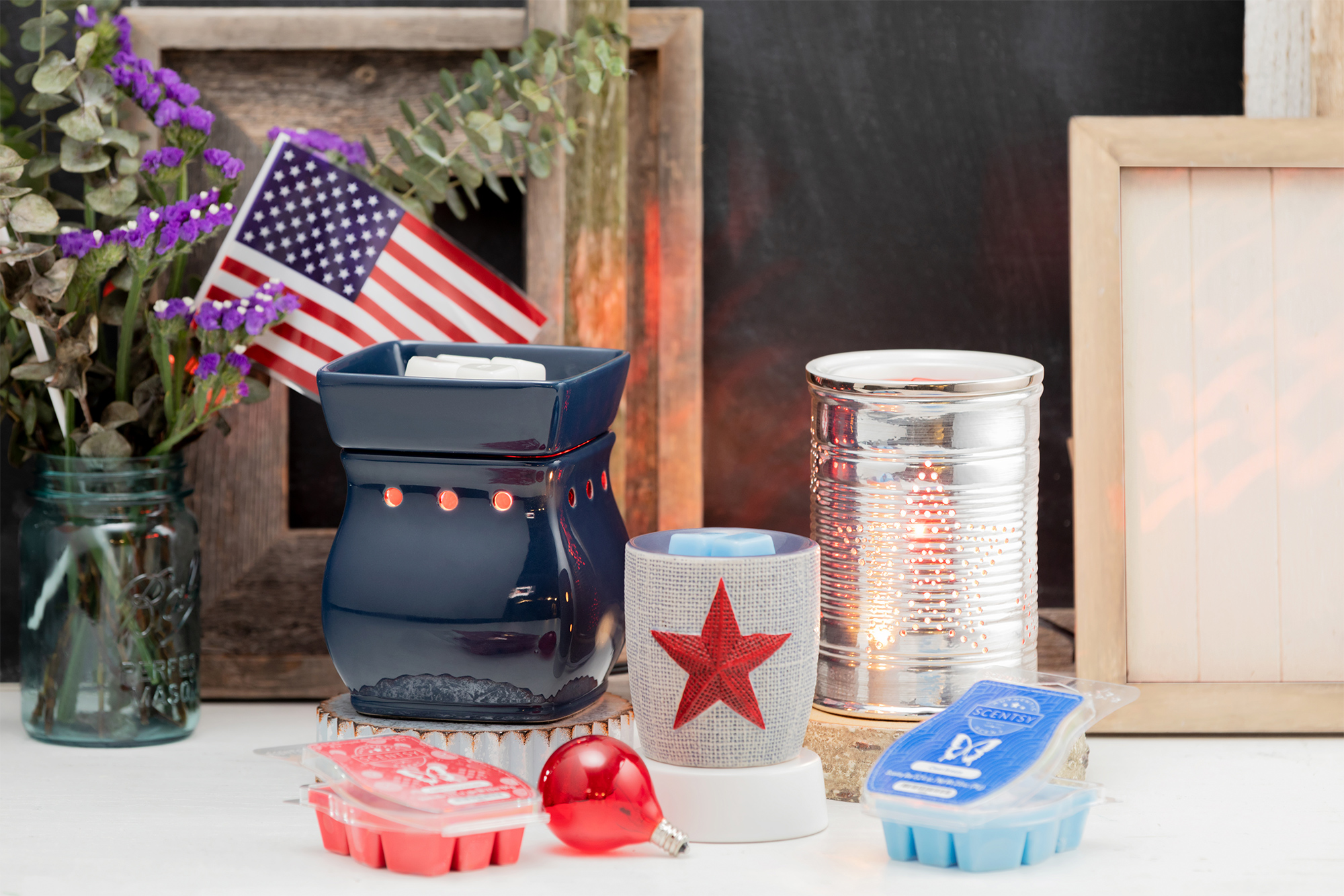 Scentsy Patriotic Decor