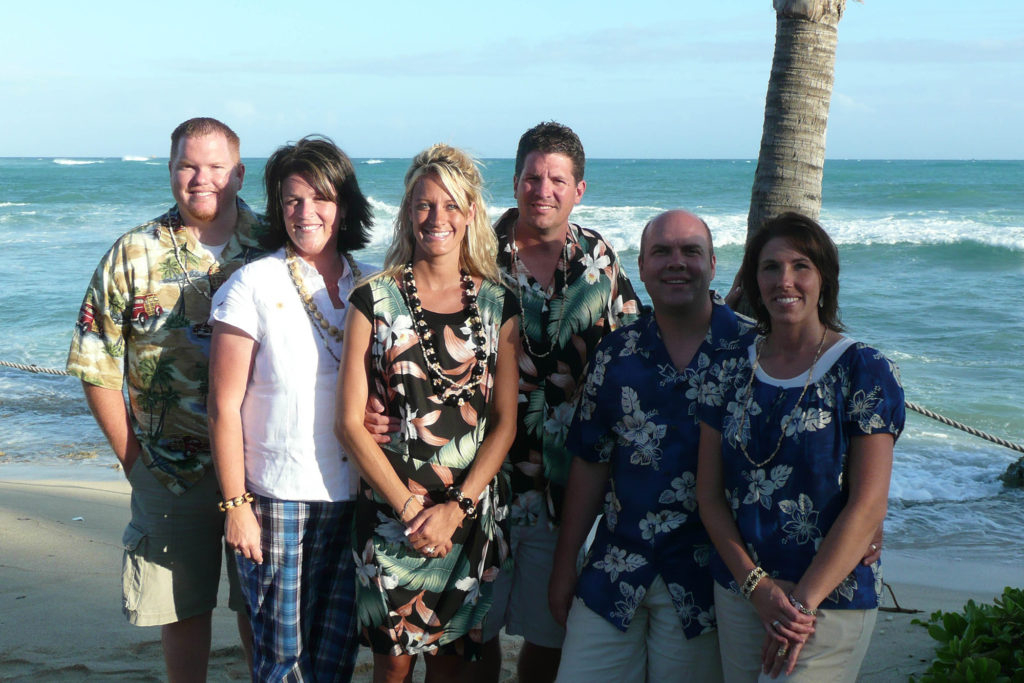 The very first Consultant incentive trip in Hawaii