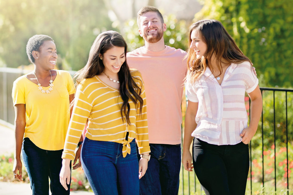 Scentsy Join 2019 Campaign - Group laughing while walking