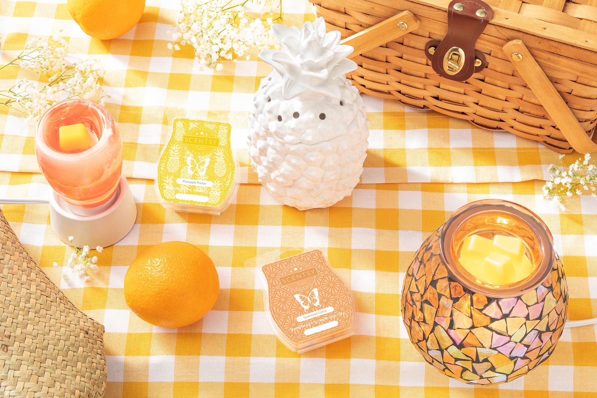 Scentsy Summer Decor Photoshoot