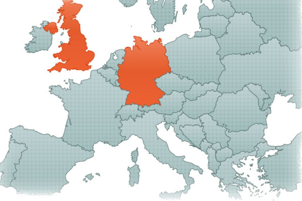 Scentsy 2011 growth map - growth in the United Kingdoms and Germany