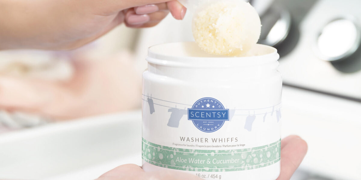 Scentsy's Aloe Water & Cucumber Washer Whiffs