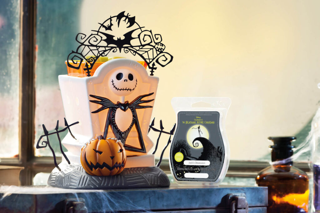 Scentsy Limited Time Jack Skellington Warmer and Scent Bar