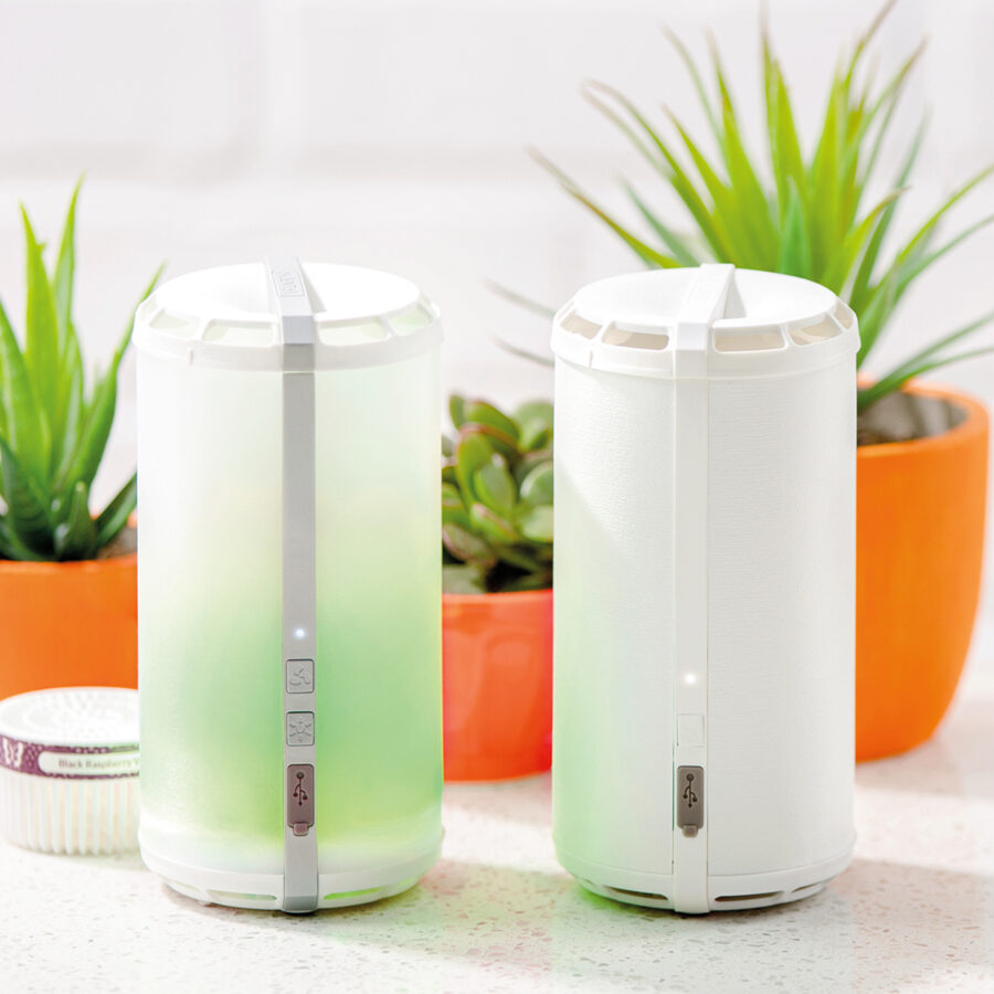 Two Scentsy Go's with Black Raspberry pods
