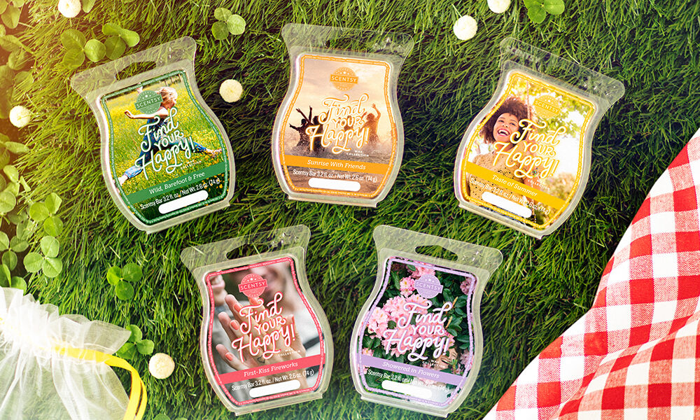 Scentsy Find Your Happiness! Wax Collection