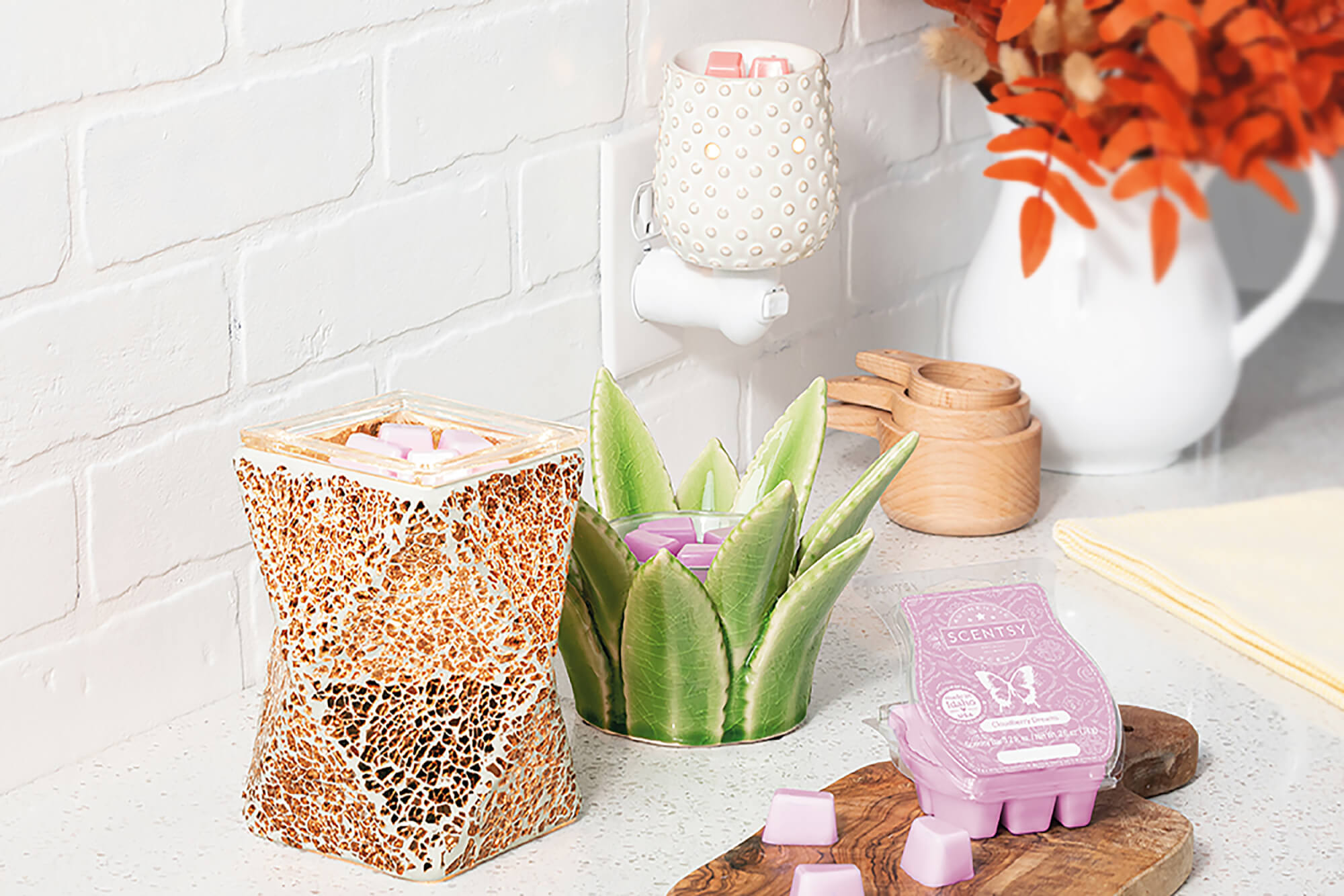 Scentsy warmers and mini warmer