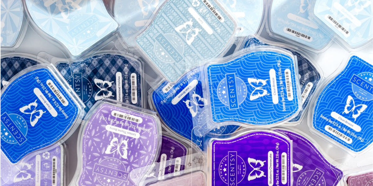 Collection of Scentsy Wax Bars