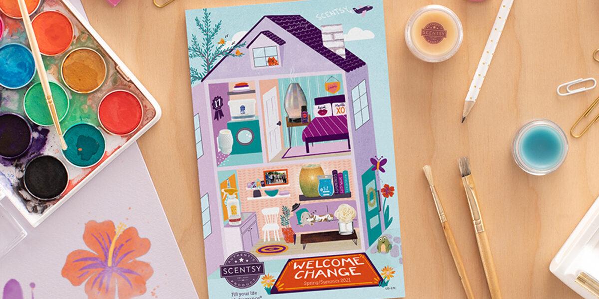 Spring/Summer 2021 Scentsy Catalog