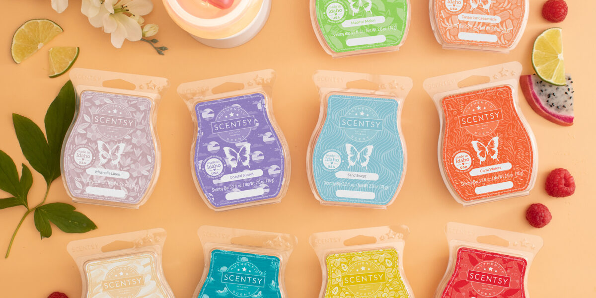 New Scentsy Spring Scents for Scentsy Graduates