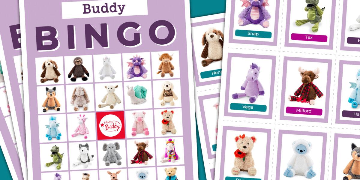 Scentsy Buddies Bingo Sheets