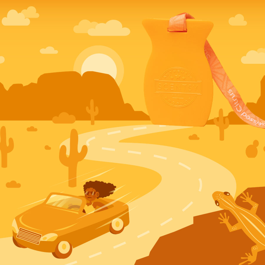 Scentsy Summer Road Trip graphic