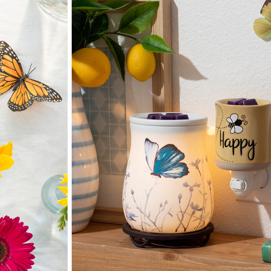 Scentsy butterflys