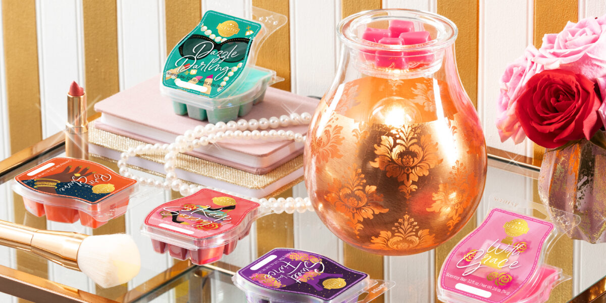 Scentsy's new Glamorous You Collection