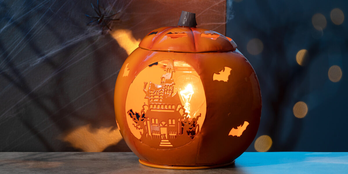 Scentsy's Paranormal Pumpkin warmer