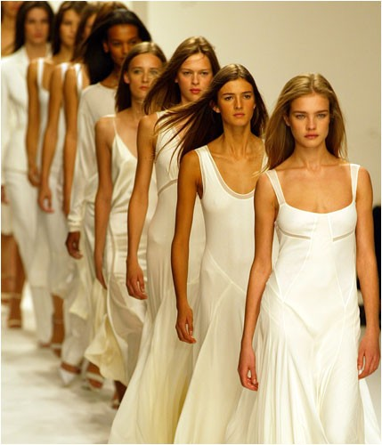 white-catwalk