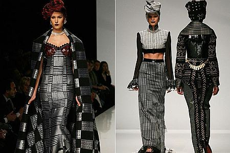 Imane Ayissi Kofi Ansah And Sylvia Owori Show At Rome Haute Couture Fashion Week Ladybrille Magazine