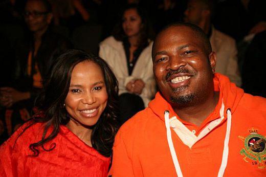 Nduka Obaigbena(R) and Dr. Precious Moloi-Motsepe