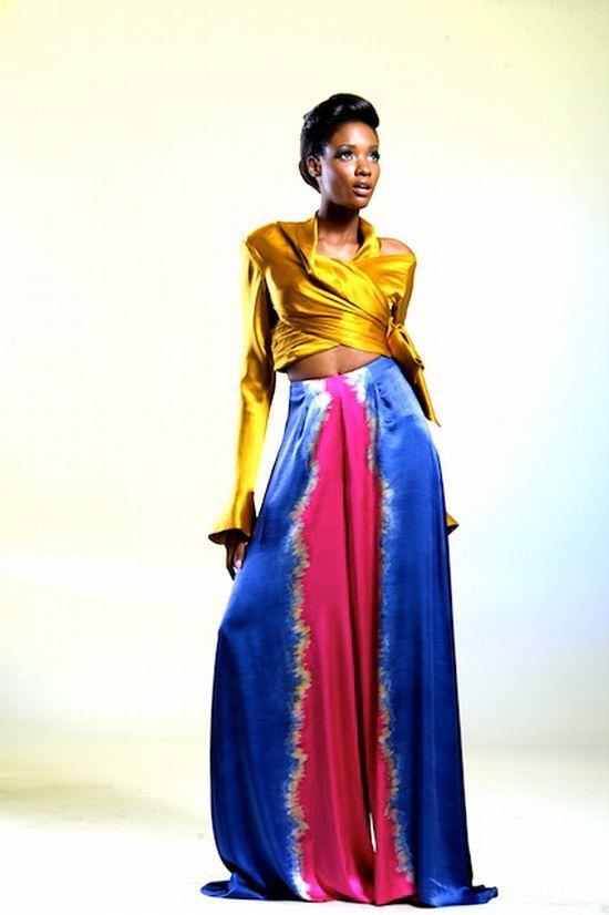 African Luxury Brand Look Book Deola Sagoe Ori Oke Ladybrille Magazine