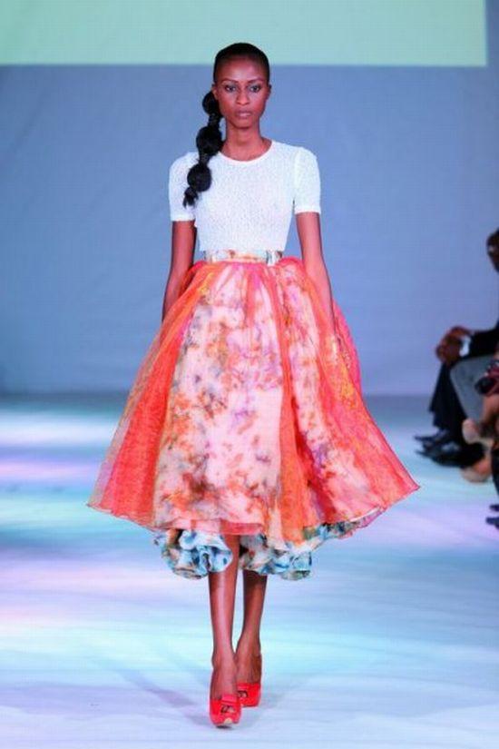 Ghana Fashion Design Week 2012 Christie Brown Africanfashion Ladybrille Magazine