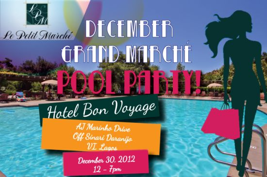 Grand Marche Pool Party