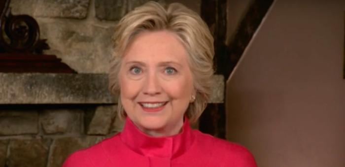 Hillary Clinton Glass Ceiling Break