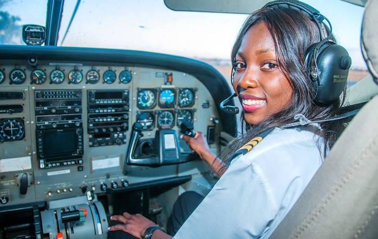 Meet Besa Mumba Zambia's Youngest Commercial Pilot 1