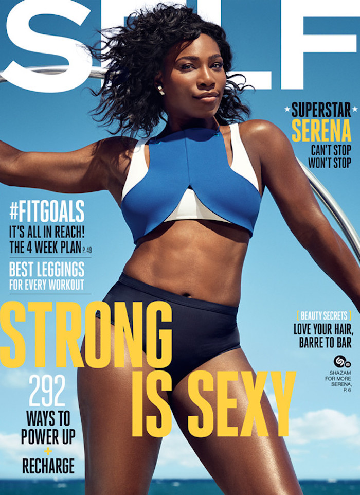 Serena Williams Self Strong and Sexy 1 | Ladybrille