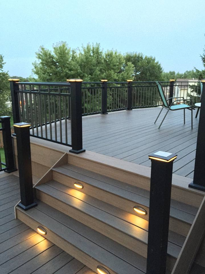 Custom Trex Deck Construction